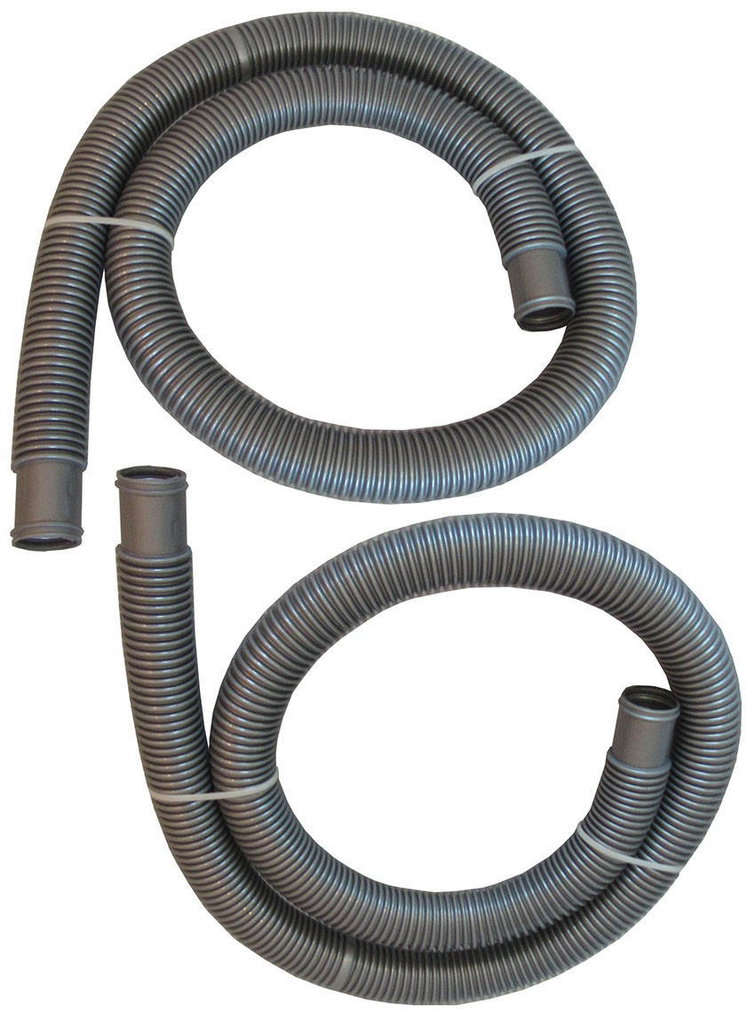 """Swimming Pool Hose 1.5"""" inch for Solar Heating Panels - 6ft long (2 Pack)"""