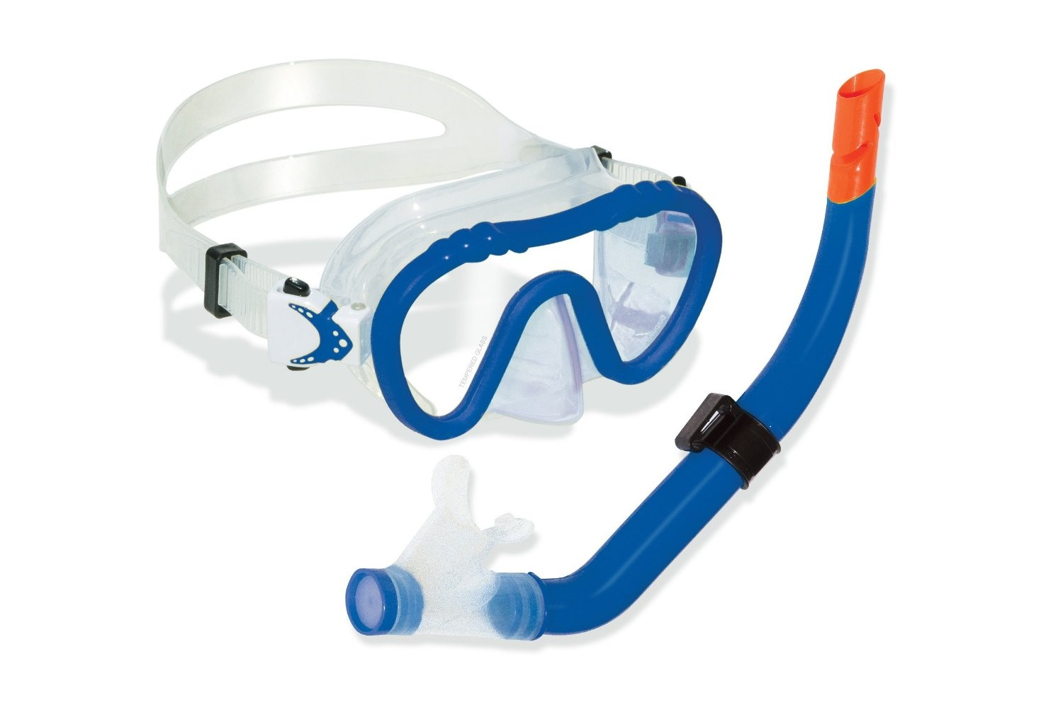 Swimline Divesite Silicone Mask and Snorkel Set (Kids Size) - Blue