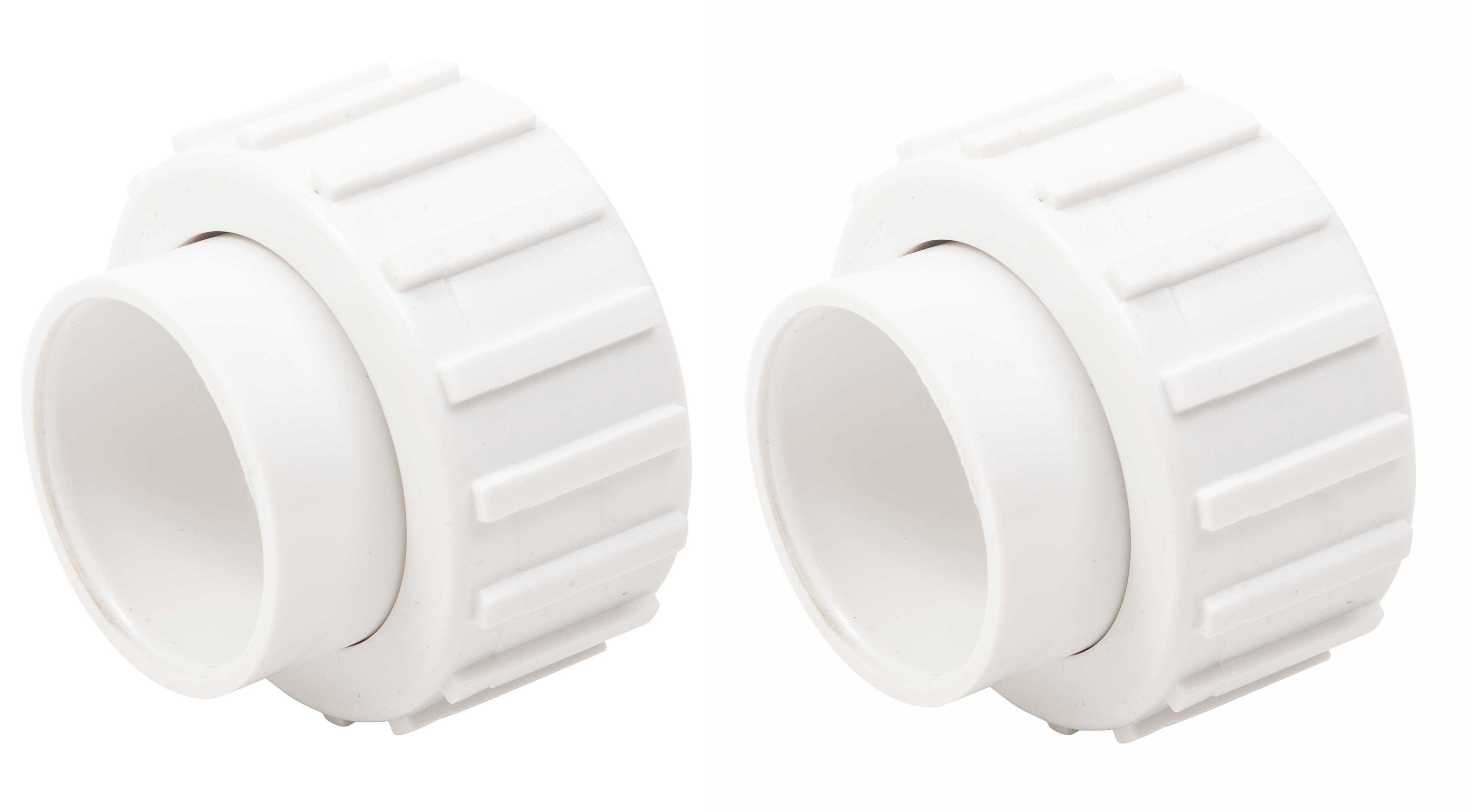 "Union Fitting Slip 1 1/2"" - Splapool Pump and Pooline Filter and Chlorinator 2pk"