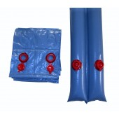 Swimming Pool Winter Cover 10 ft Double Water Tube