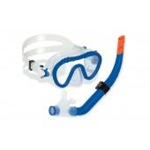 Swimline Divesite Silicone Mask and Snorkel Set (Kids Size) - Blue