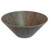 """Merritt International Melamine Heartwood 10""""x4.25"""" Serving Bowl"""