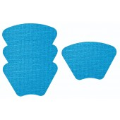 Merritt International Fishnet Placemat 19in x 13in Wedge Capri 4 Pack