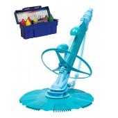 Automatic Pool Cleaner Vacuum-generic Kreepy Krauly with 5 Way Pool Testing Kit